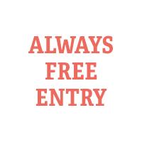 Always free entry
